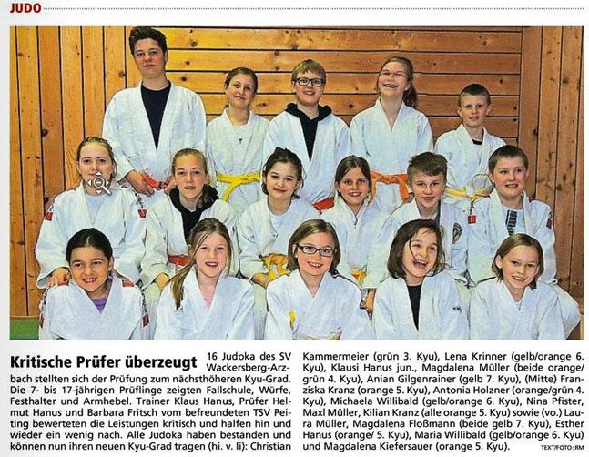 Tapfer mitgemis... Judo Bayernkader